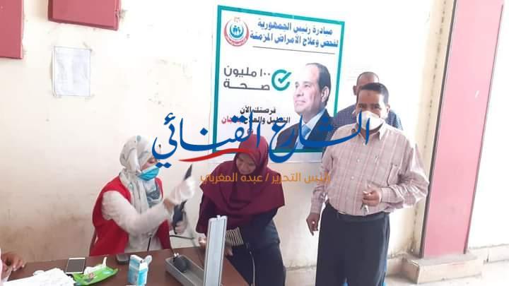 """aljornal.com - الجورنال - """"المعاون"""" يتفقد مراكز """"100 مليون صحة"""" في نجع حمادي – الشارع القنائي"""