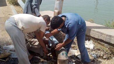 Photo of استجابة لما نشره الشارع القنائي: إصلاح تسريب مياه كوبري العاقولا بحجازة قوص