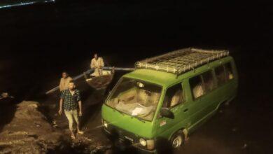 """Photo of بعد انتهاء الفرح.. العناية الإلهية تنقذ قائد سيارة من الموت المحقق بقرية """"هو"""" بنجع حمادي"""