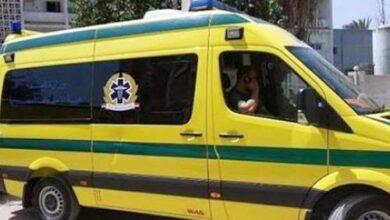 Photo of اصابة شابين في حادث تصادم بدندرة