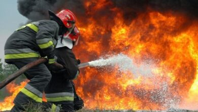 Photo of تفحم كل محتوياتها   …السيطرة على حريق نشب في شقة سكنية بقوص