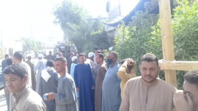 Photo of إقبال الناخبين على لجان مركز دشنا في قنا