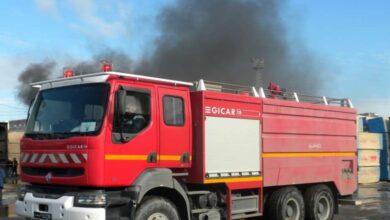 Photo of الحماية المدنية تحاول السيطرة على حريق بدشنا