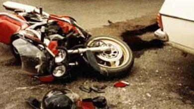 Photo of إصابة شاب في حادث تصادم موتوسيكل بسيارة في قوص