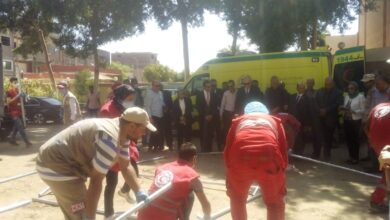 Photo of إصابة 2 في انقلاب سيارة ملاكي على طريق قنا سوهاج