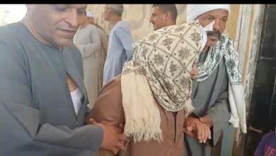 Photo of مسن يدلي بصوته في انتخابات النواب بدائرة أبوتشت