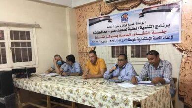 Photo of جلسة تشاور لوضع مقترحات الخطة الإستثمارية بنقادة