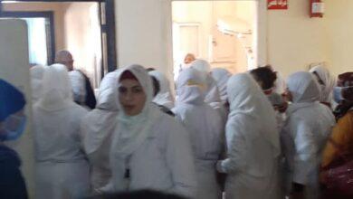 """Photo of ممرضات """"نجع حمادي العام"""" يضربن عن العمل"""