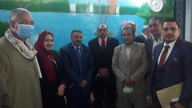 Photo of جولة لنائبي مركز أبوتشت في المصالح الحكومية