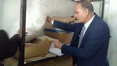 Photo of ضبط ١٠٠ كرتونة أرز و ٣٠٠ زجاجة مياه معدنية مجهولين المصدر بمراكز المحافظة