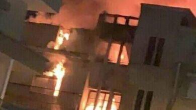 Photo of نشوب حريق في منزل من 3 طوابق بأبوتشت