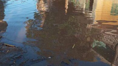 Photo of انفجار ماسورة مياه يؤدي لغرق الشوارع في نجع عايد
