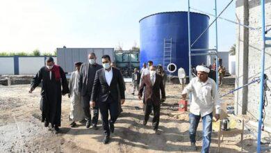 Photo of بتكلفة 8 ملايين و900 ألف.. نائب محافظ قنا يتفقد إنشاءات محطة مياه الشاورية