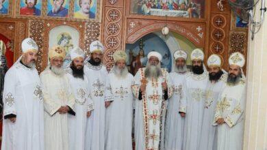 Photo of أسقف دشنا يترأس القداس الإلهي بكنيسة الأنبا كاراس