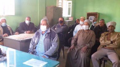 """Photo of حملة التعافي الأخضر تنظم ندوة """"إعادة تدوير سفير القصب"""" بفرشوط"""