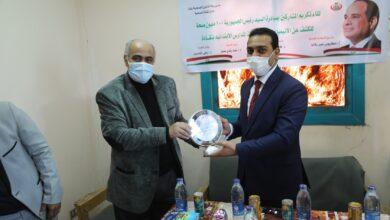 Photo of تكريم المشاركين في المبادرة الرئاسية للكشف عن الأنيميا والتقزم بنقادة