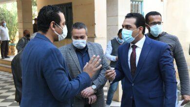 Photo of نائب محافظ قنا يتفقد وحدة صحة القلعة والبراهمة بمركز قفط