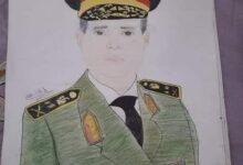 """Photo of """"زياد """" ابن قرية القارة .. طفل برع في رسم المشاهير """"حلمي أكون رساما عالميا""""..صور"""