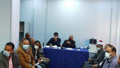 """Photo of """"محلي قفط"""" يعقد اجتماعًا تنفيذياً لمديري الإدارات"""