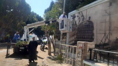 """Photo of """"ميدان البارود"""" يتجمل استعدادًا للاحتفال بـ""""عيد قنا القومي"""""""