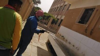 Photo of تعقيم وتطهير المدارس بأبوتشت استعدادا لامتحانات الفصل الدراسي الأول..صور