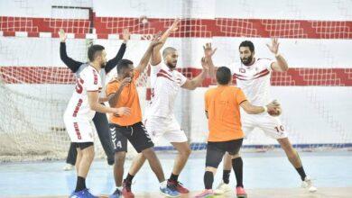 "Photo of فريق ""يد"" مركز شباب مدينة العمال بقنا يخسر أمام نادي الزمالك في كأس مصر"