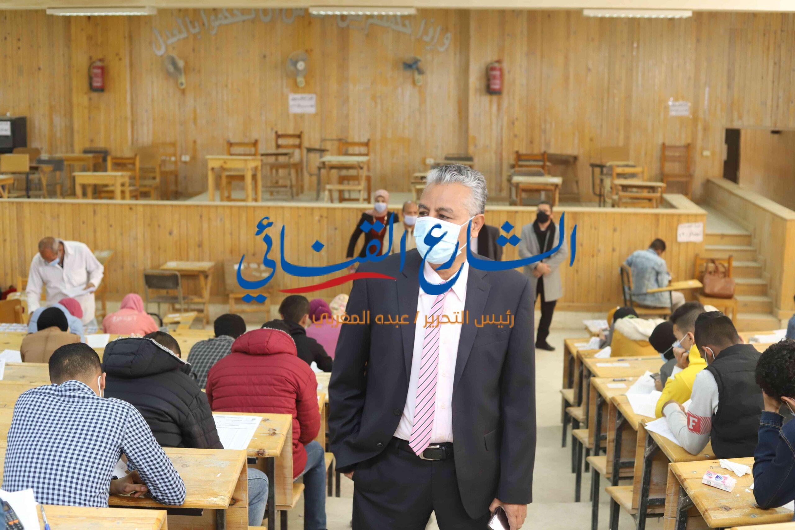Photo of رئيس جنوب الوادي: 7932 طالب وطالبة أدوا الامتحانات في الفترة الصباحية