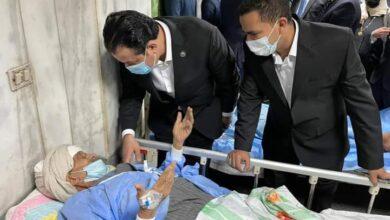 Photo of زعيم الأغلبية بمجلس النواب يتفقد مستشفيات سوهاج ويزور مصابين حادث القطار