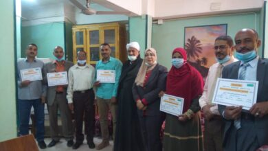 Photo of تعليمية دشنا تكرم الفائزين بمسابقات التربية الاجتماعية