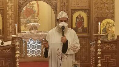 """Photo of """"الأنبا بيمن"""" يترأس صلاة الثالث للقمص ساويرس هارون بدير الملاك بنقادة"""
