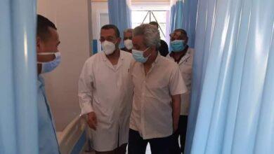 Photo of وكيل وزارة الصحة يتفقد مستشفي الصدر بقنا