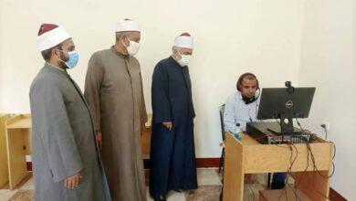 """Photo of """"أبو الوفا"""" يتابع امتحانات المتقدمين لتحفيظ القرآن الكريم"""