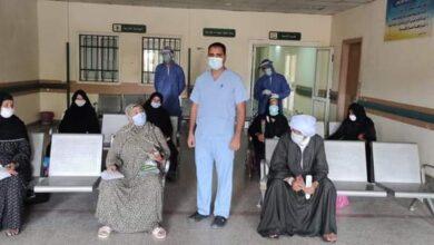 Photo of خروج 10 حالات كورونا بعد تعافيهم في مستشفى العزل بقفط
