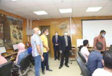 """Photo of 102 طالب و23 عضو هيئة تدريس يؤدون امتحانات دورة """"التحول الرقمي"""""""