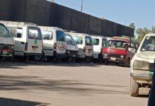 "Photo of بالصور..سائقو خطوط 4قرى في نجع حمادي يستغيثون بالمحافظ:""الموقف بلا خدمات"""
