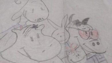 Photo of 8 طالبات بالمرحلة الإعدادية يبدعن في فن الرسم بأبوتشت