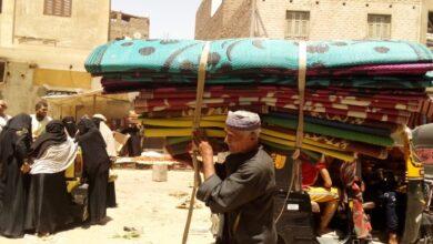 "Photo of صور| ""سوق الإثنين"" بالوقف.. قِبلة أهالي القرى والنجوع بحثًا عن الرزق"