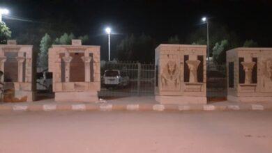 Photo of بشخصيات ومعابد فرعونية.. تجميل أكشاك الكهرباء في مدينة قفط