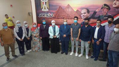 """Photo of """"وكيل تعليم قنا"""" يستقبل ممثلي مسابقة أوائل الطلاب بالمحافظة ويحثهم على الاجتهاد"""